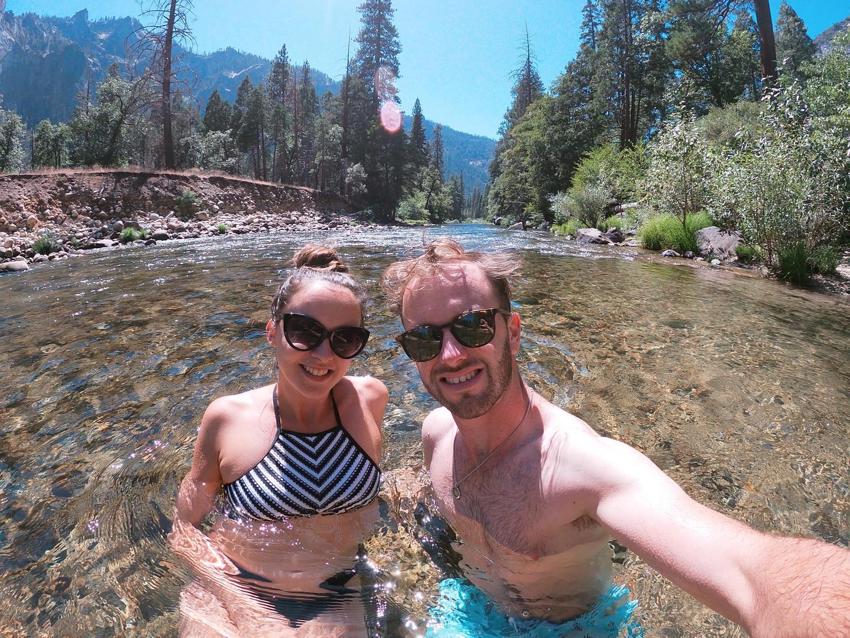 Swim Merced River Yosemite Valley