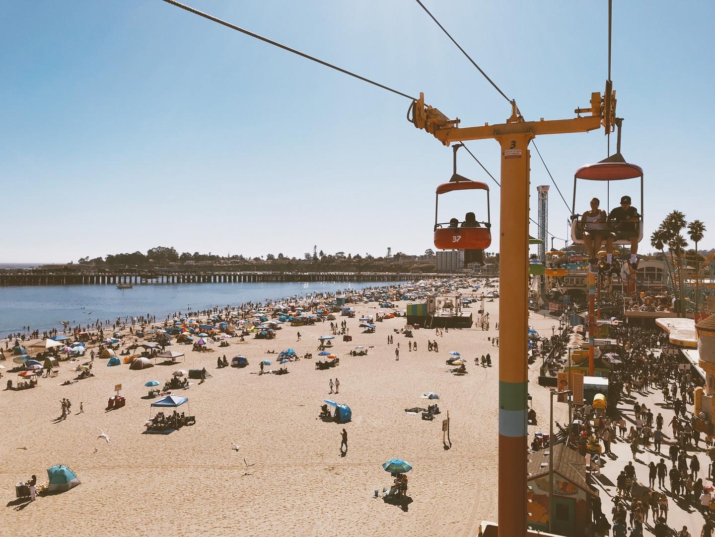 Sky Glider Santa Cruz Beach