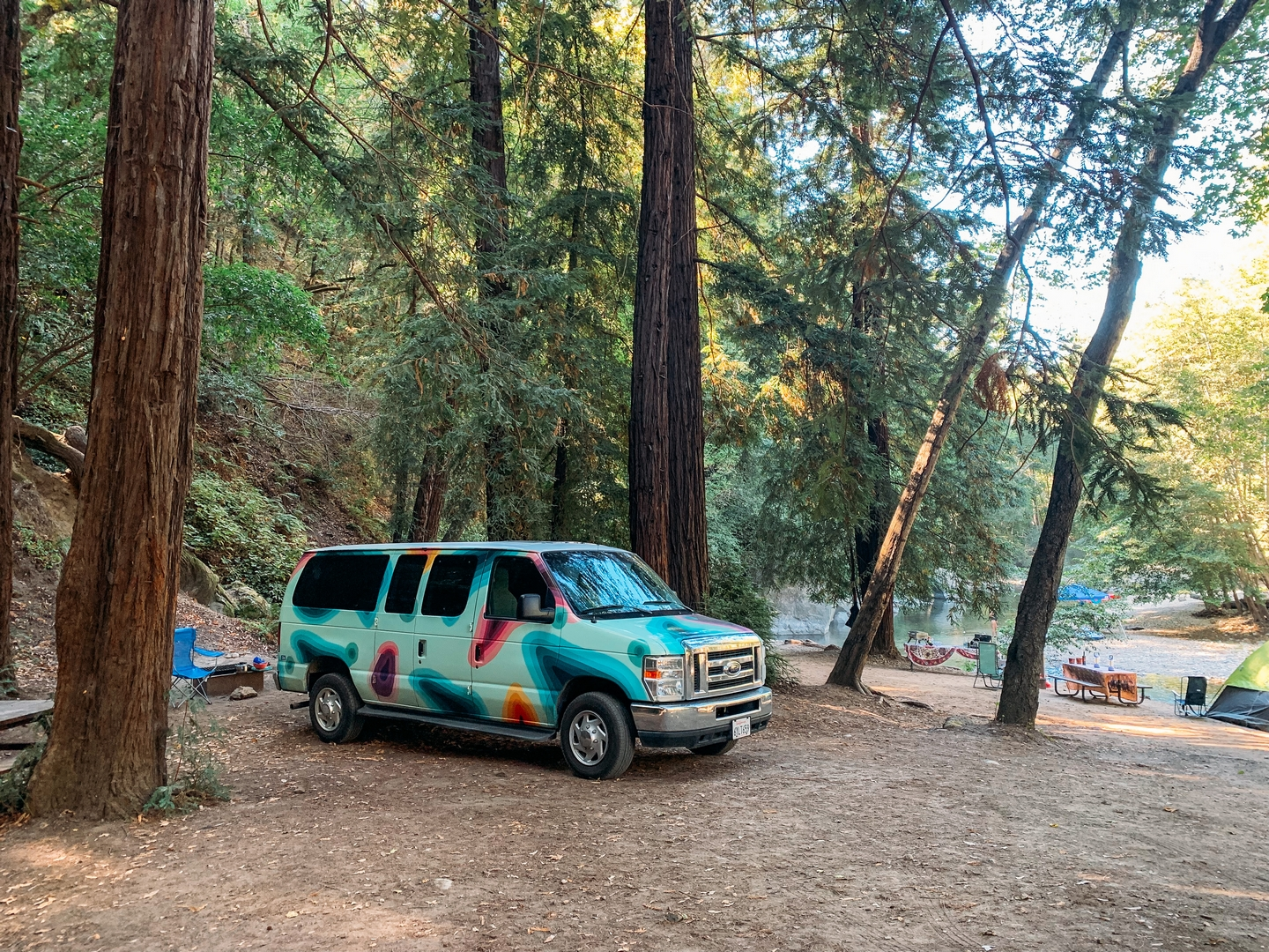 Fernwood camping California Big Sur